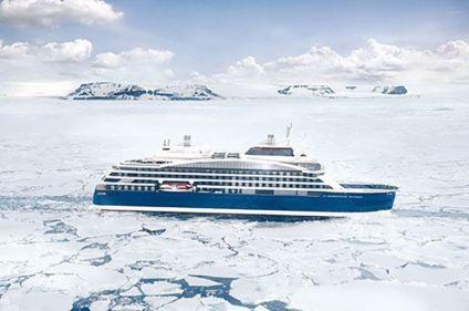 Mer de Weddell et plateforme de glace de Larsen