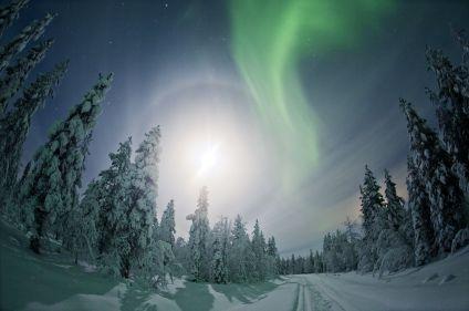 Objectif aurores boréales