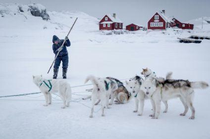 Dans un petit village inuit