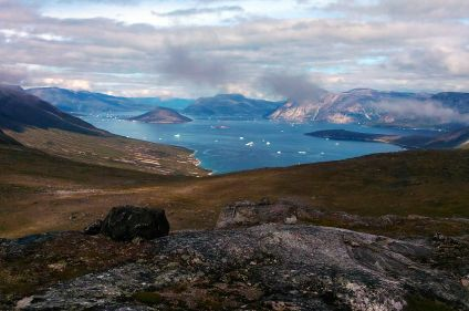 Exploration de la côte Sud et Est du Groenland