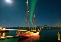 Les Lofoten sous les aurores boréales