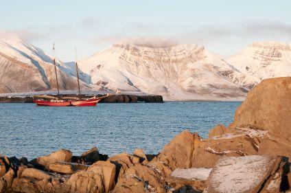 Isfjord et côte sud du Svalbard