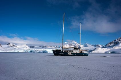 Dans les glaces du Spitzberg