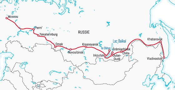 Transsiberien Trajet Archives Voyages Cartes